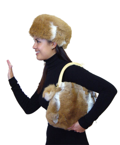 Alpaca Hat & Bag