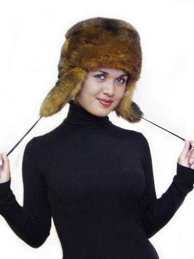 Possum Fur KGB Russian Hat