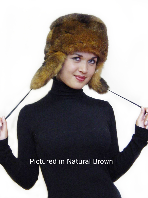a04f8ebd67e Possum Fur KGB Russian Hat