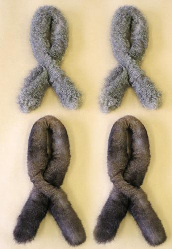 Four Pack Possum Fur Sausage Roll Collar