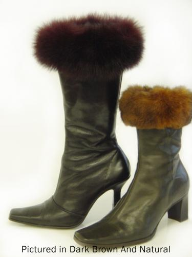 Possum Fur Boot Cuffs