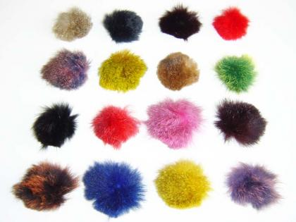 Possum Fur Buttons