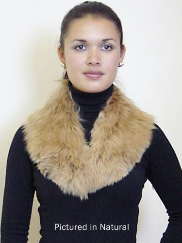 Alpaca Fleece Shawl Collar