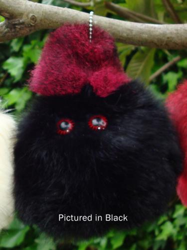 Black Possum Furball Toy