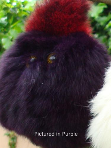 Purple Possum Furball Toy