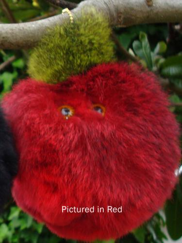 Red Possum Furball Toy