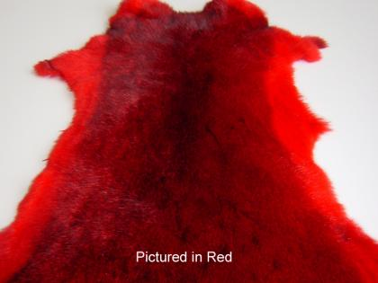 Red Possum Fur Hide