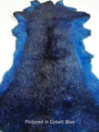 Cobalt Blue Possum Fur Hide
