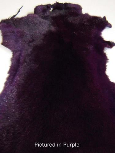 Purple Possum Fur Hide