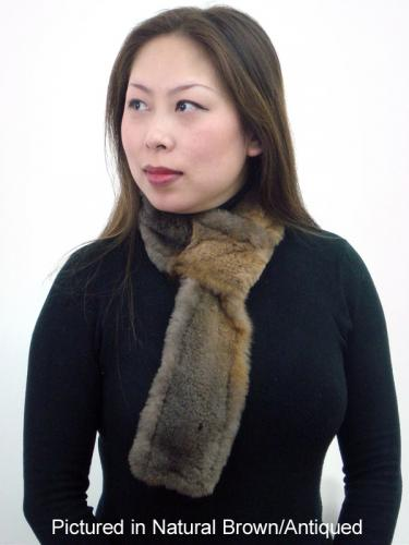 Possum Fur Pull Through Scarf