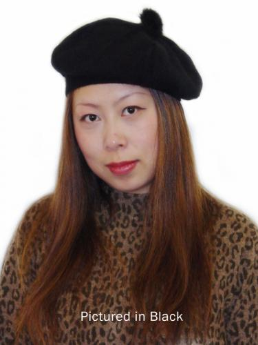 Black Possum Merino T Cozy Knit Hat