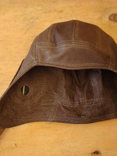 Deerskin Air Force Hat - Suede Lined