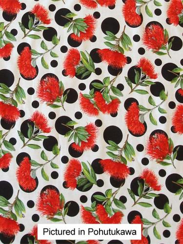 Pohutukawa Apron Reversible Close Up