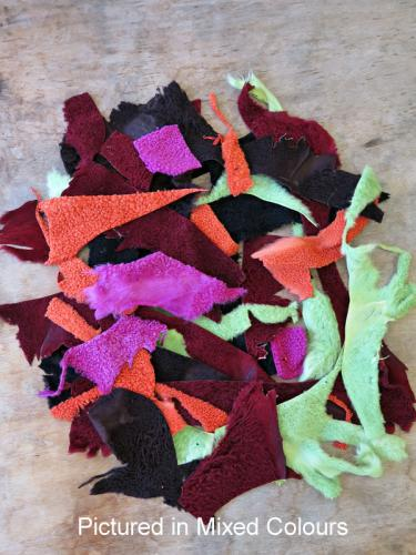 Baby Lambskin Scraps Mixed Colours