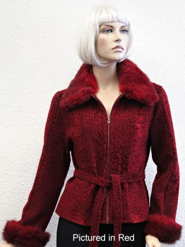 Red Babylamb Lulu Jacket