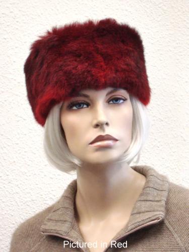 Red Possum Fur Headband