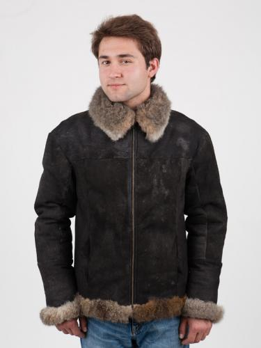 men's possum fur jacket