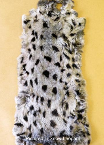Possum Fur Hide Snow Leopard