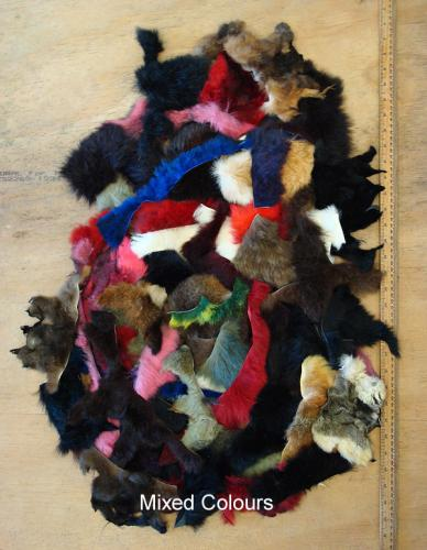 Mixed Possum Fur Scraps