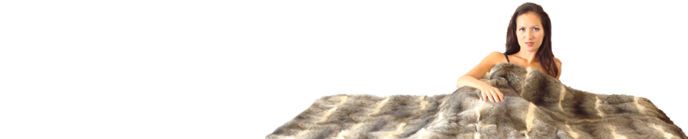 Possum Fur Full Bed Throw banner
